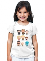 T-Shirt Fille Got characters