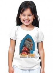 T-Shirt Fille Gardiens de la galaxie: Star-Lord