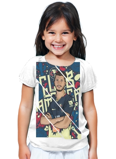 buy popular fb6ef 01233 T-Shirt Girl Guido Rodriguez America white - Kids