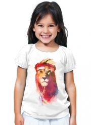 T-Shirt Fille Gym Lion