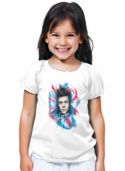 T-Shirt Fille Harry Union Jack peinture