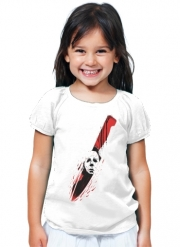 T-Shirt Girl Hell-O-Ween Myers knife