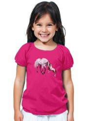 T-Shirt Girl Horses Love Forever