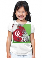 T-Shirt Girl Indiana College Football