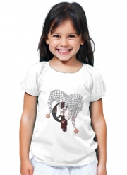 T-Shirt Fille Joker girl