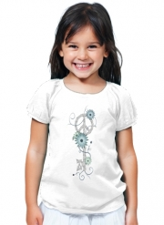 T-Shirt Girl Key To Peace