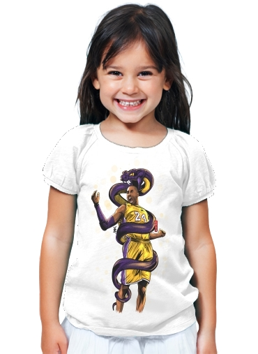 T-Shirt Girl Legend Black Mamba