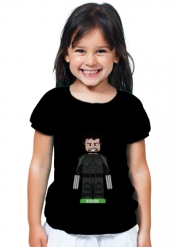 T-Shirt Girl Lego: X-Men feat Wolverine