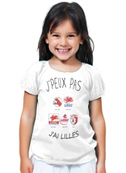 T-Shirt Fille Lilles Losc Maillot Football