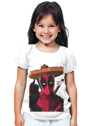 T-Shirt Girl Mexican Deadpool