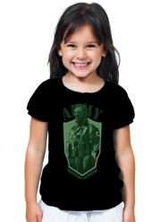 T-Shirt Girl MGS Phantom Pain Army Men Big Boss Diamond Dogs