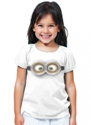 T-Shirt Girl minion 3d
