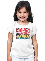 T-Shirt Fille Minions mashup One Direction 1D