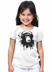 T-Shirt Fille Monkey Business