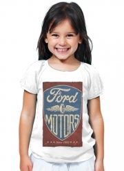 T-Shirt Girl Motors vintage