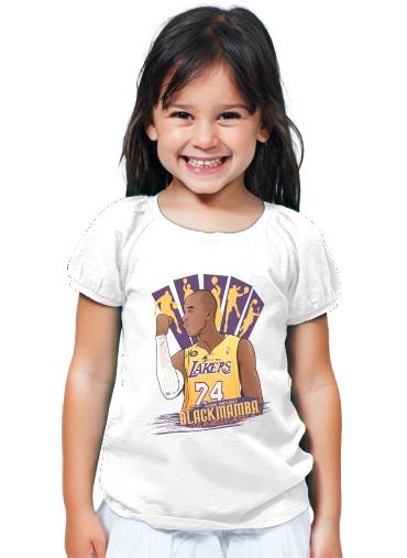 7b4bffaa11c8 T-Shirt Girl NBA Legends  Kobe Bryant white - Kids