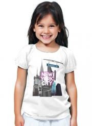 T-Shirt Fille New York City II [pink]
