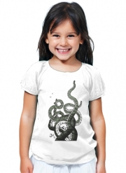 T-Shirt Fille Octopus Tentacles