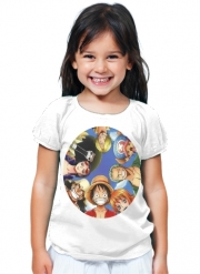 T-Shirt Fille One Piece Equipage