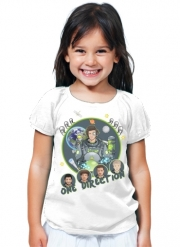 T-Shirt Fille Outer Space Collection: One Direction 1D - Harry Styles