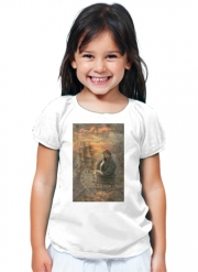 T-Shirt Fille Outlander Collage