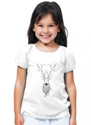 T-Shirt Fille Poetic Deer