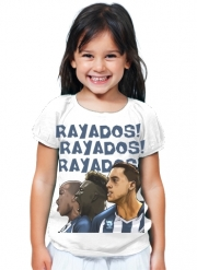 T-Shirt Girl Rayados Tridente