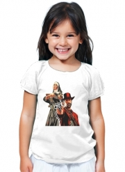 T-Shirt Fille Red Dead Redemption Fanart