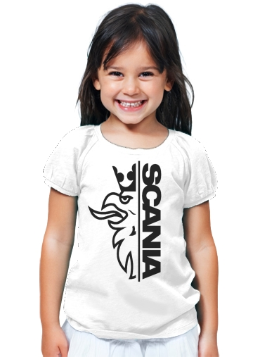 T-Shirt Fille Scania Griffin