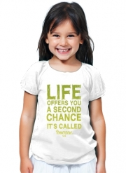 T-Shirt Fille Second Chance