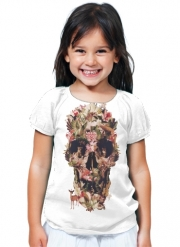 T-Shirt Fille Skull Jungle