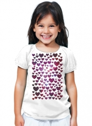 T-Shirt Fille Space Hearts