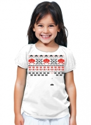 T-Shirt Fille Space Invaders