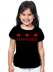 T-Shirt Girl Space Invaders