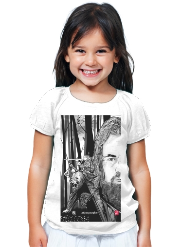 T-Shirt Girl The Bear and the Hunter Revenant