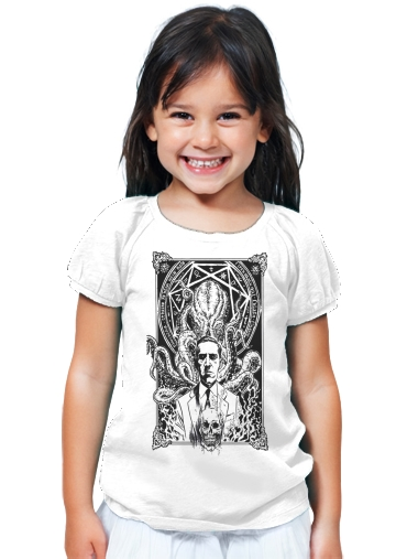 T-Shirt Fille The Call of Cthulhu