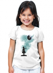T-Shirt Fille The Girl That Hold The World