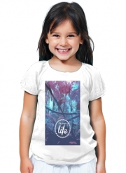 T-Shirt Fille the jungle life