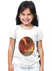 T-Shirt Fille The Power Of Aliens