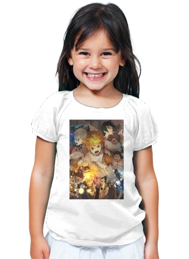 T-Shirt Fille The promised Neverland