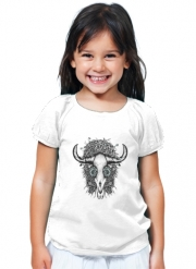 T-Shirt Girl The Spirit Of the Buffalo