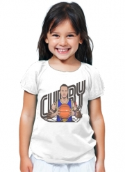 T-Shirt Girl The Warrior of the Golden Bridge - Curry30