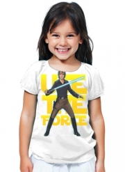 T-Shirt Girl Use the force