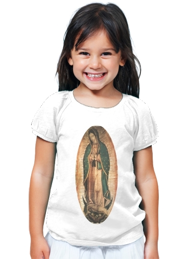 T-Shirt Girl Virgen Guadalupe