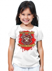 T-Shirt Fille Zombie Hunter