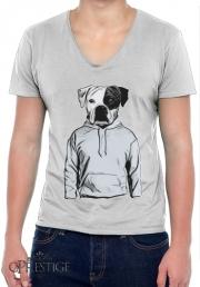 T-Shirt homme Col V Cool Dog