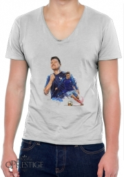 T-Shirt homme Col V florian thauvin