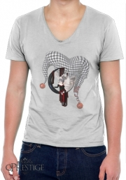 T-Shirt homme Col V Joker girl