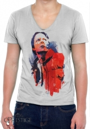 T-Shirt homme Col V Marty Mcfly