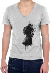 T-Shirt homme Col V Mother Earth